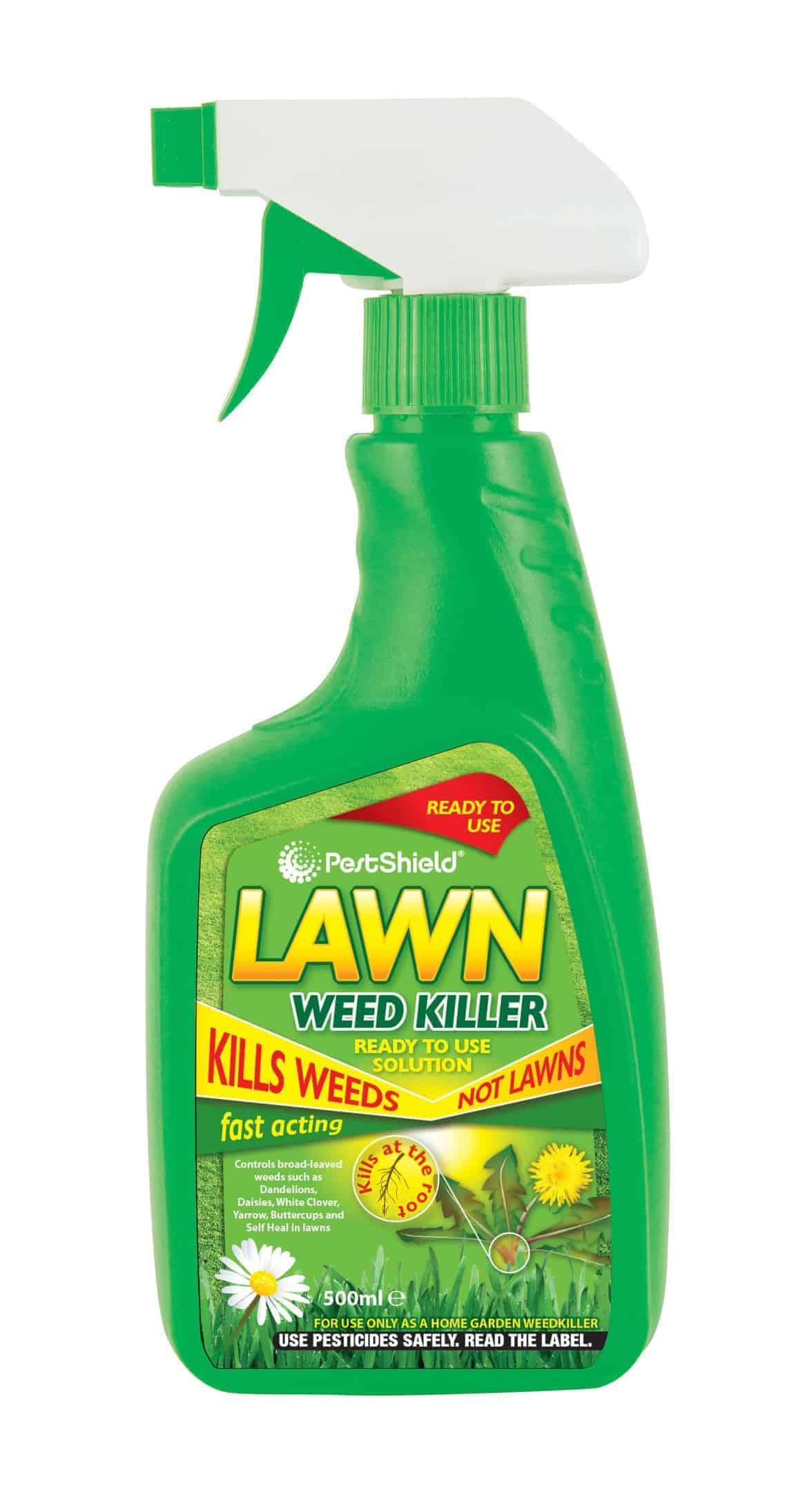 PestShield Lawn Weed Killer-500Ml