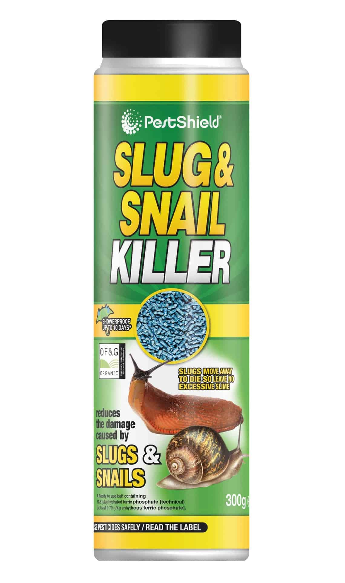 PestShield Slug+Snail Killer-300G