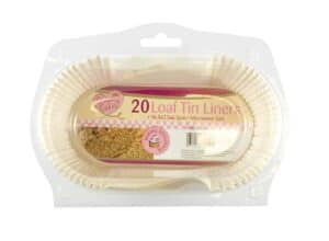 Queen Of Cakes Loaf Tin Liners-20Pk