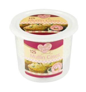 Queen Of Cakes Muffin Cases-125Pc