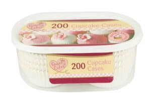 Queen Of Cakes Cup Cake Cases-200Pc