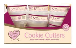 Queen Of Cakes Cookie Cutters-Round Case