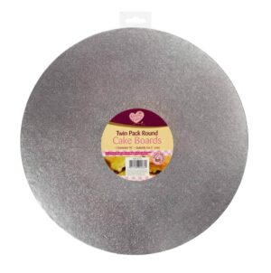 Queen Of Cakes Cake Boards-Twin Pk Round