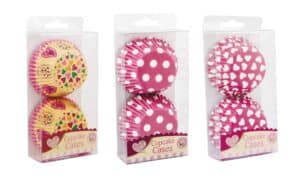 Queen Of Cakes Cup Cake Cases-60Pk Ass