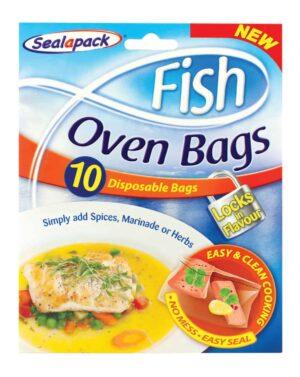 SealaPack 10pk Fish Oven Bags