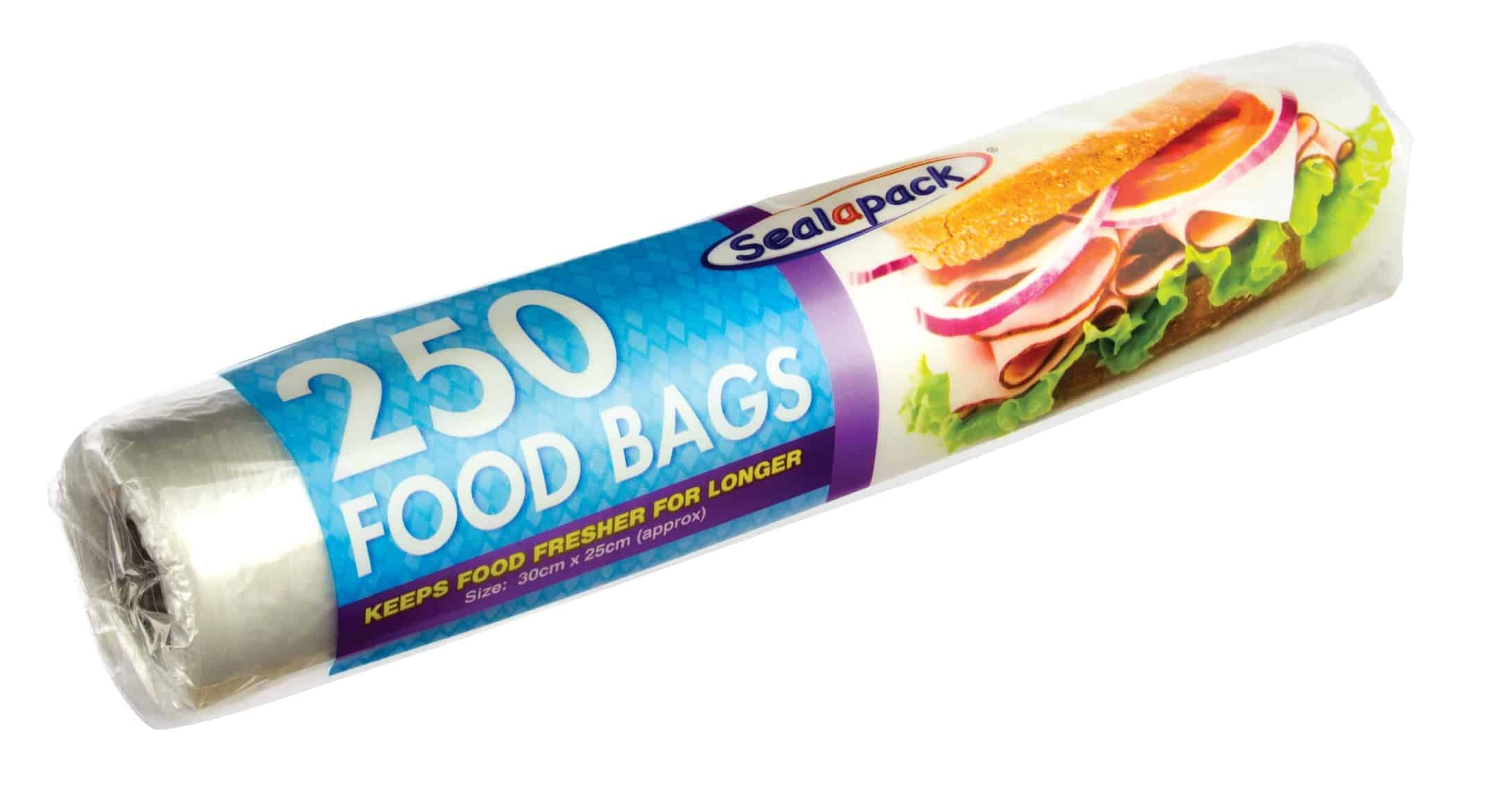 SealaPack 250 Large Food Bags (On Roll)