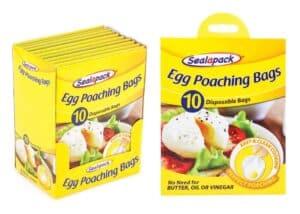 SealaPack Egg Poaching Bags-10Pk