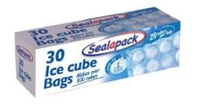 SealaPack  30pk Ice Cube Bags