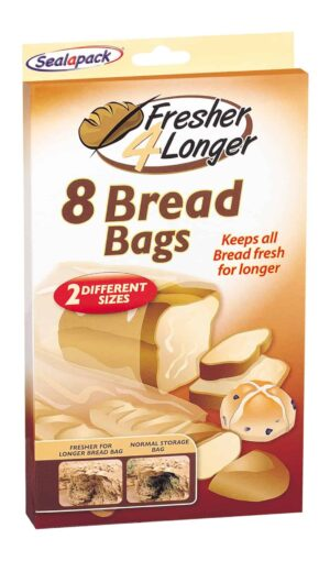 SealaPack Bread Bags-8Pk