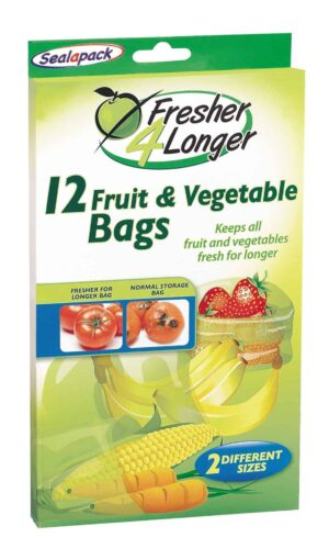 SealaPack Fruit/Veg Bags-12Pk