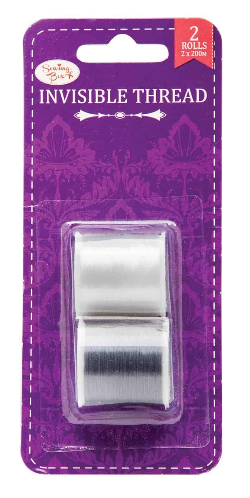 Sewing Box 2Pk Invisible Thread