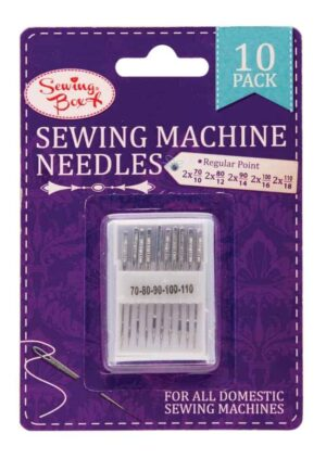 Sewing Box 10 Sewing Needles In Plastic Box