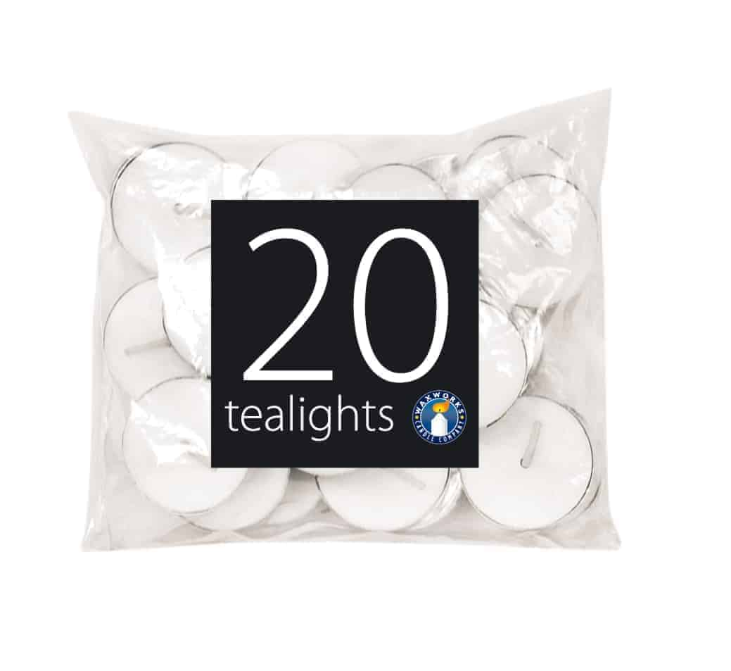 Waxworks 20pk Tealight Candles