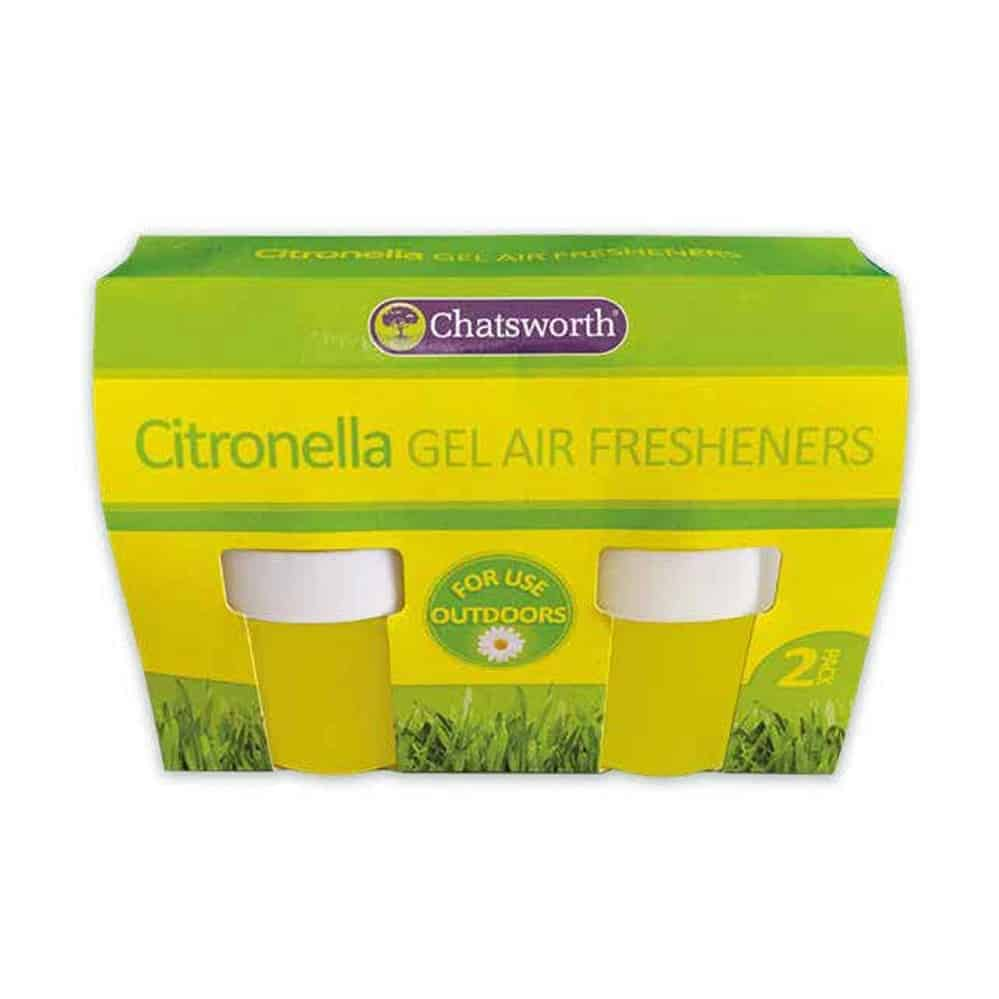 Chatsworth Citronella 2 Pack Gel Fresheners