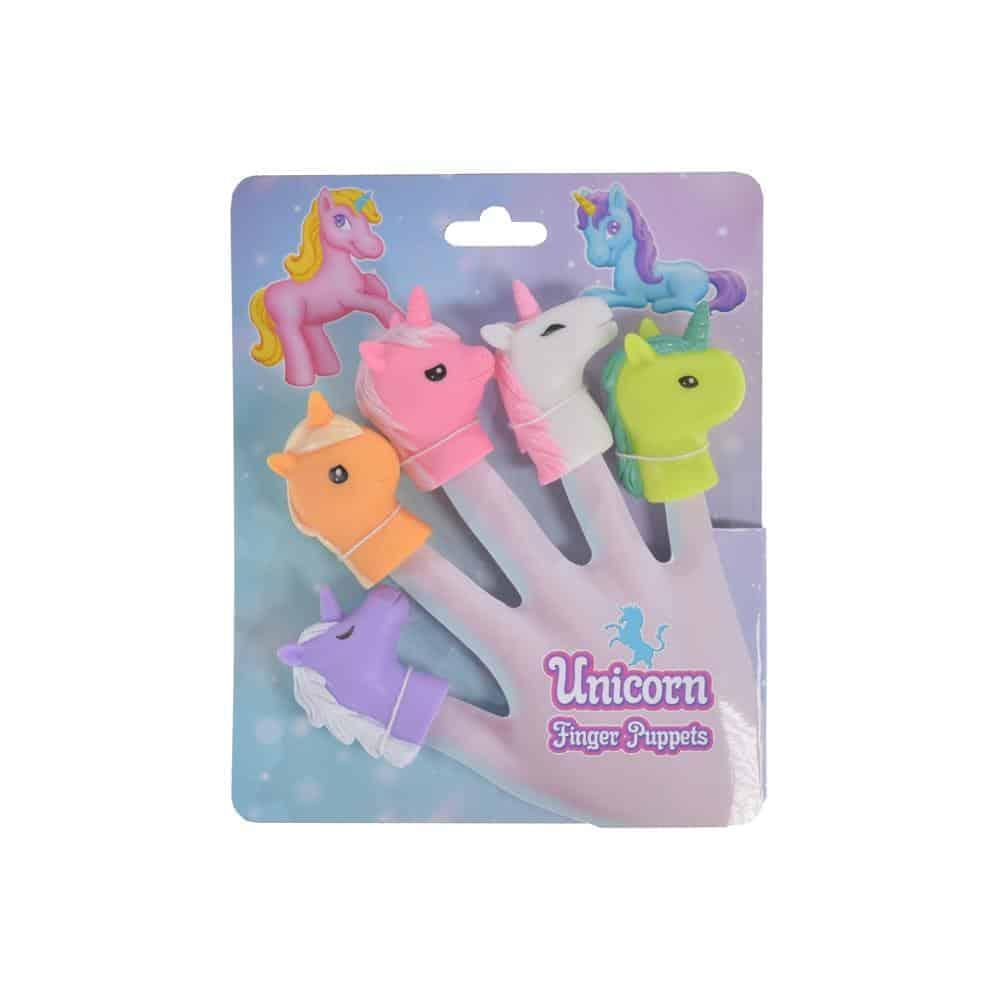 Unicorn 5Pc Finger Puppets