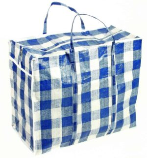 Smart Alec Large Checked Shopper