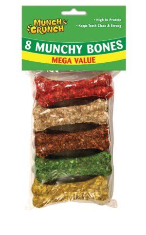 Munch Crunch Munchy Bones -8Pk