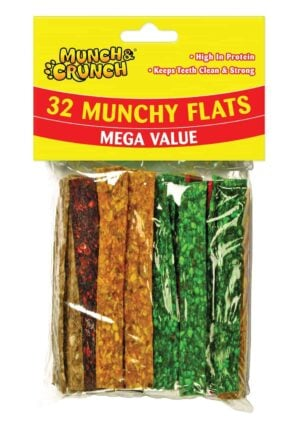 Munch Crunch 32pc Munch Flats