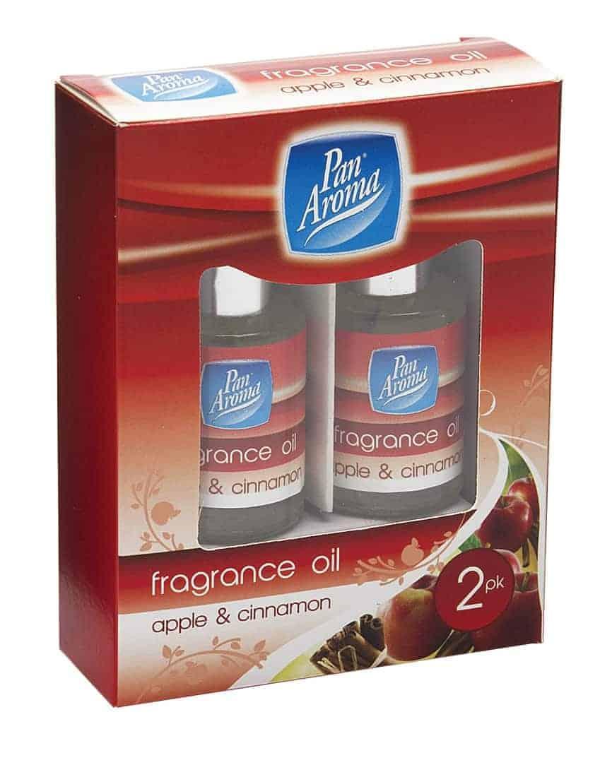 Pan Aroma  2Pc Fragrance Oils Apple Cinnamon