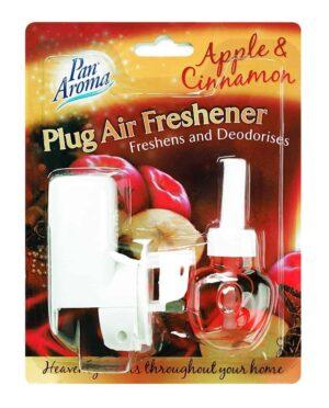 Pan Aroma Plug In Freshener Apple and Cinnamon