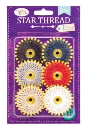 Sewing Box 6Pk Star Thread
