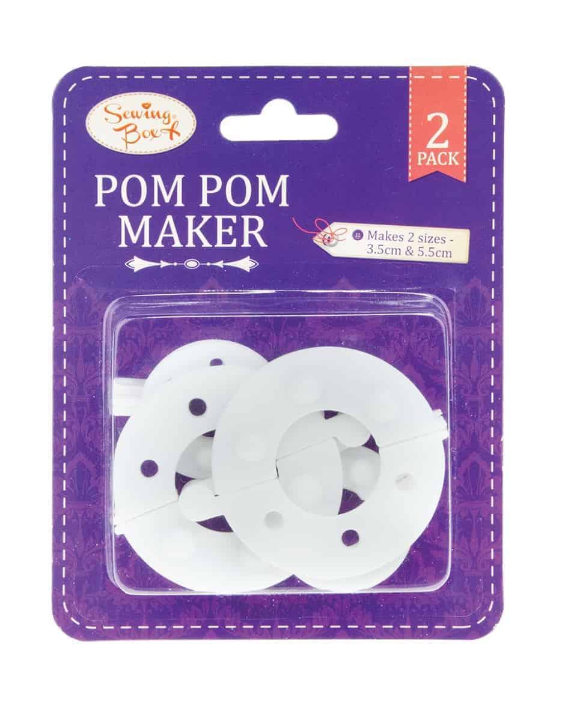 Sewing Box Pom  Pom  Maker