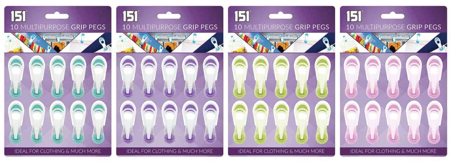 151 Products 10Pk Multipurpose Pegs