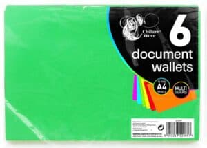 Chiltern Wove 6Pk Document Wallet