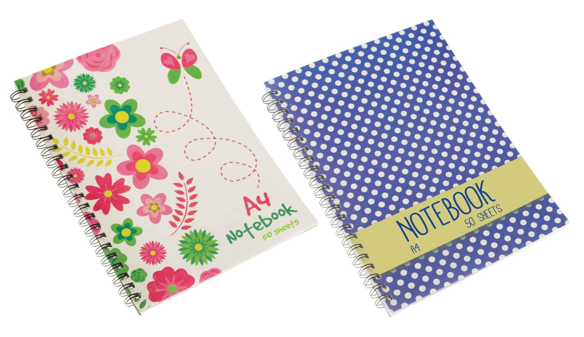 Chiltern Wove A4 50 Sheet Notebook