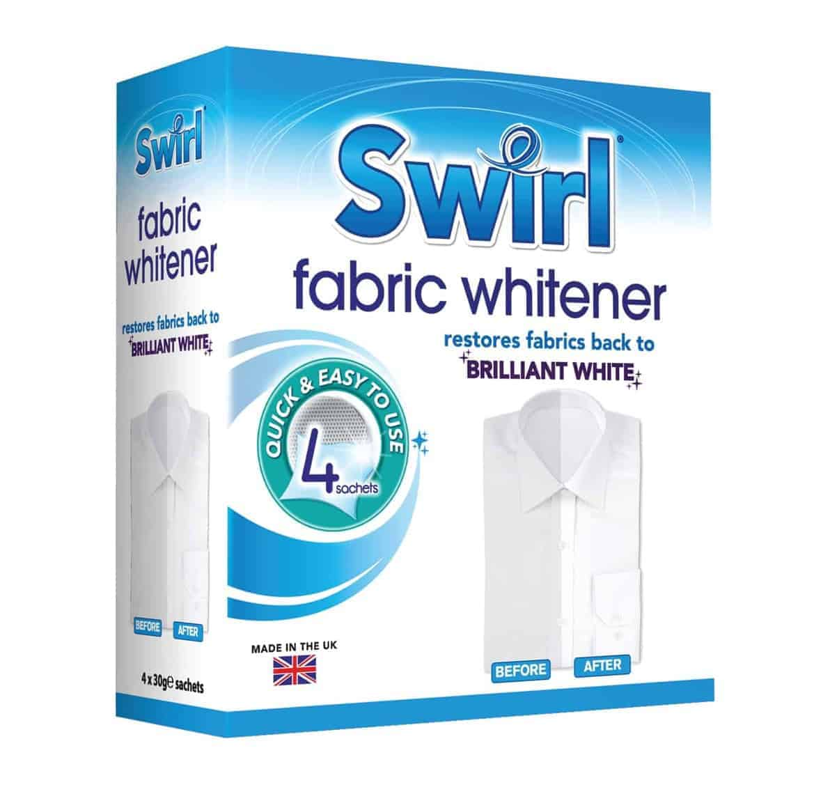 Swirl 4Pk Fabric Whitener