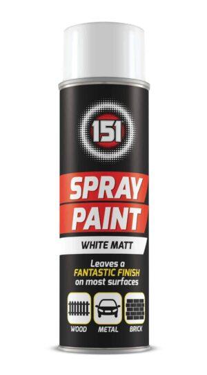 151 Products White Matt Spray-250Ml