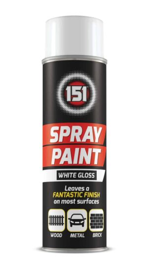 151 Products White Gloss Spray Paint - 250Ml