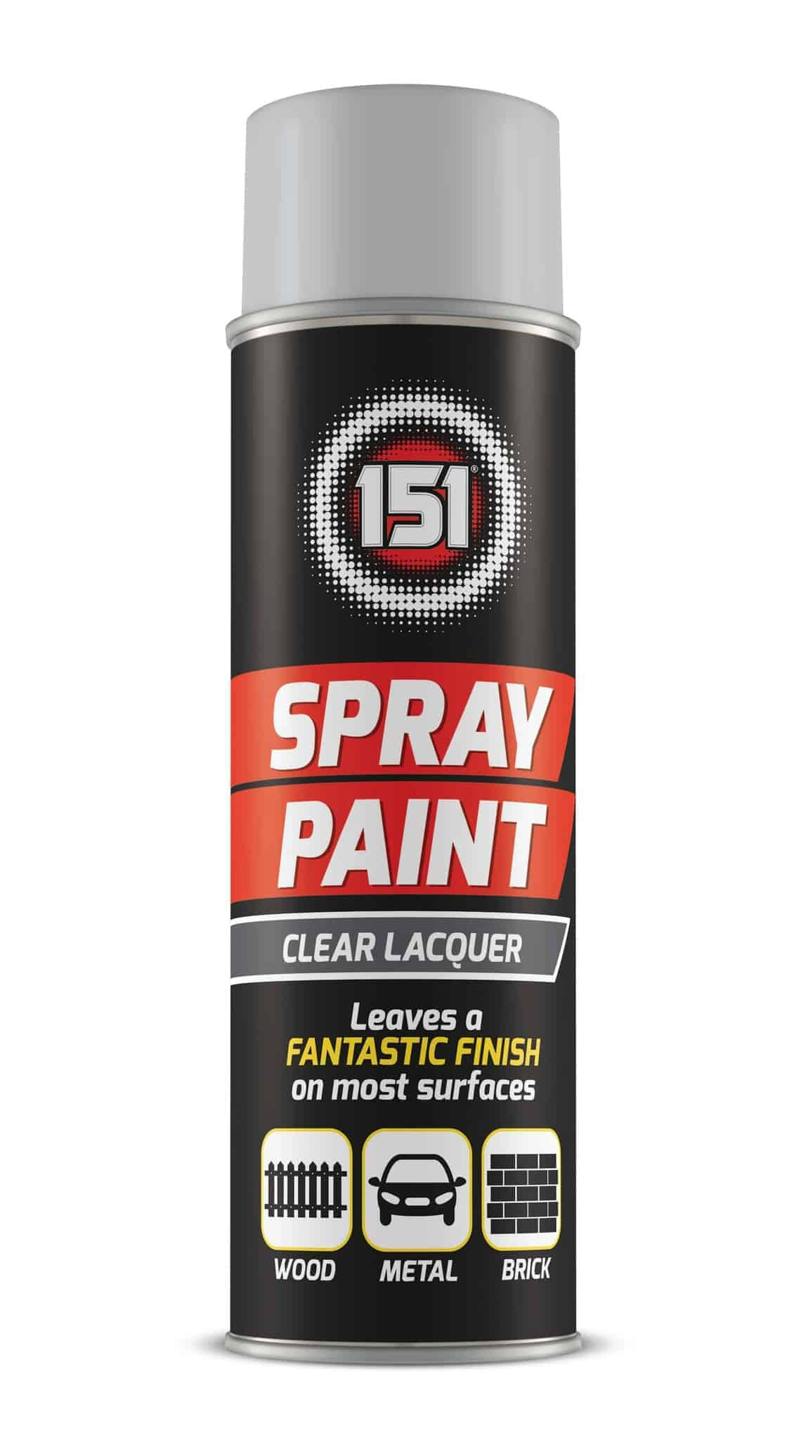 151 Products Clear Lacquer Spray Paint