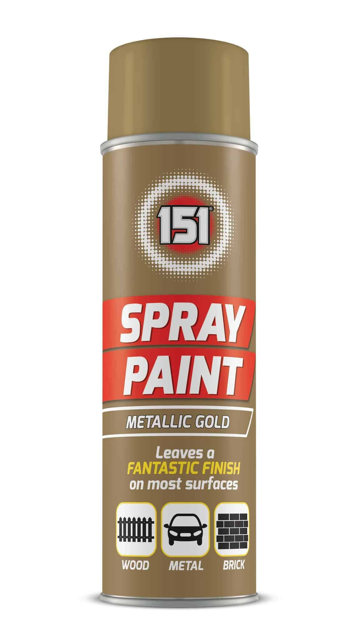 151 Products Gold Spray Paint