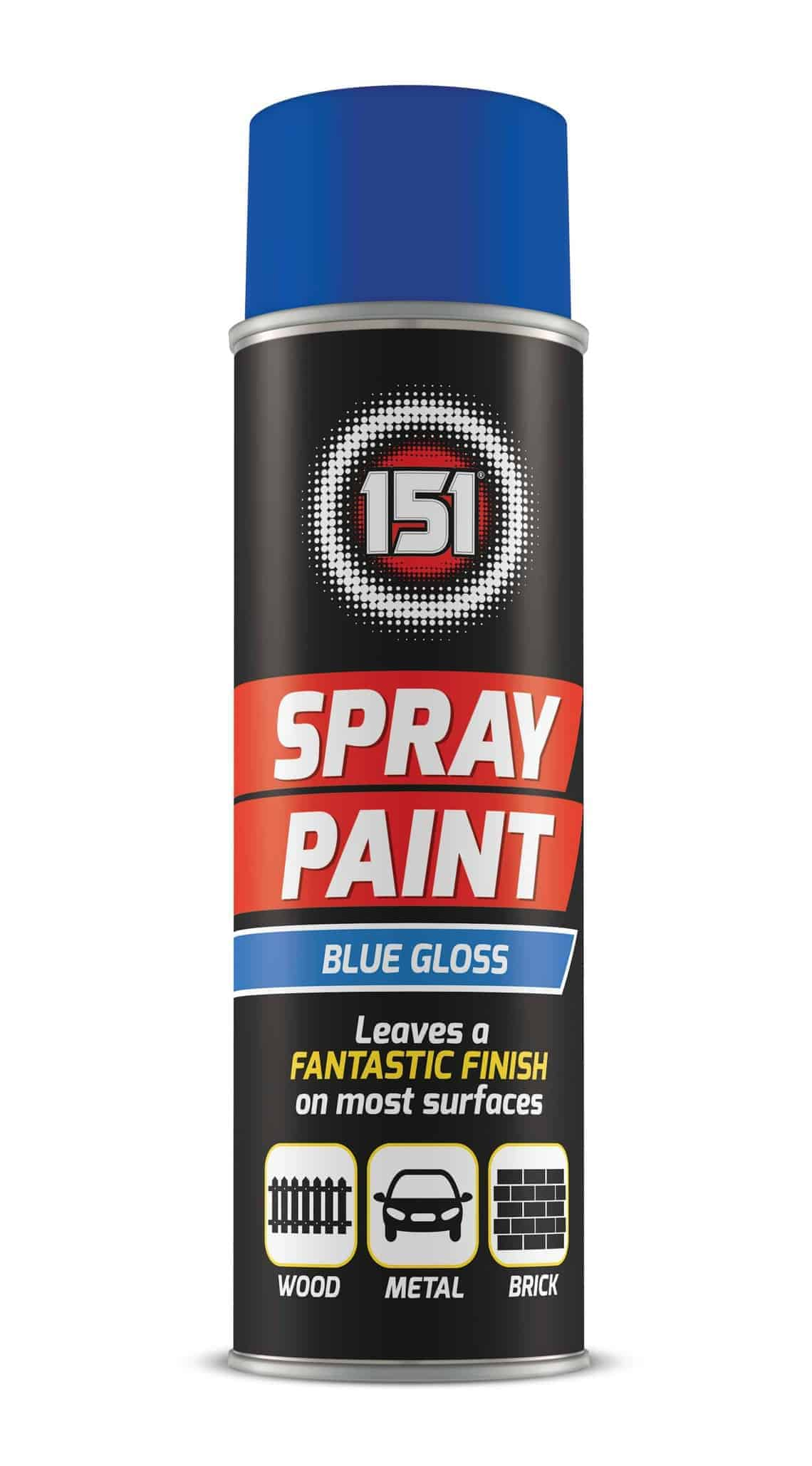 151 Products Blue Spray Paint
