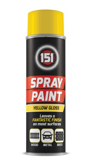 151 Products Yellow Gloss Spray-250Ml