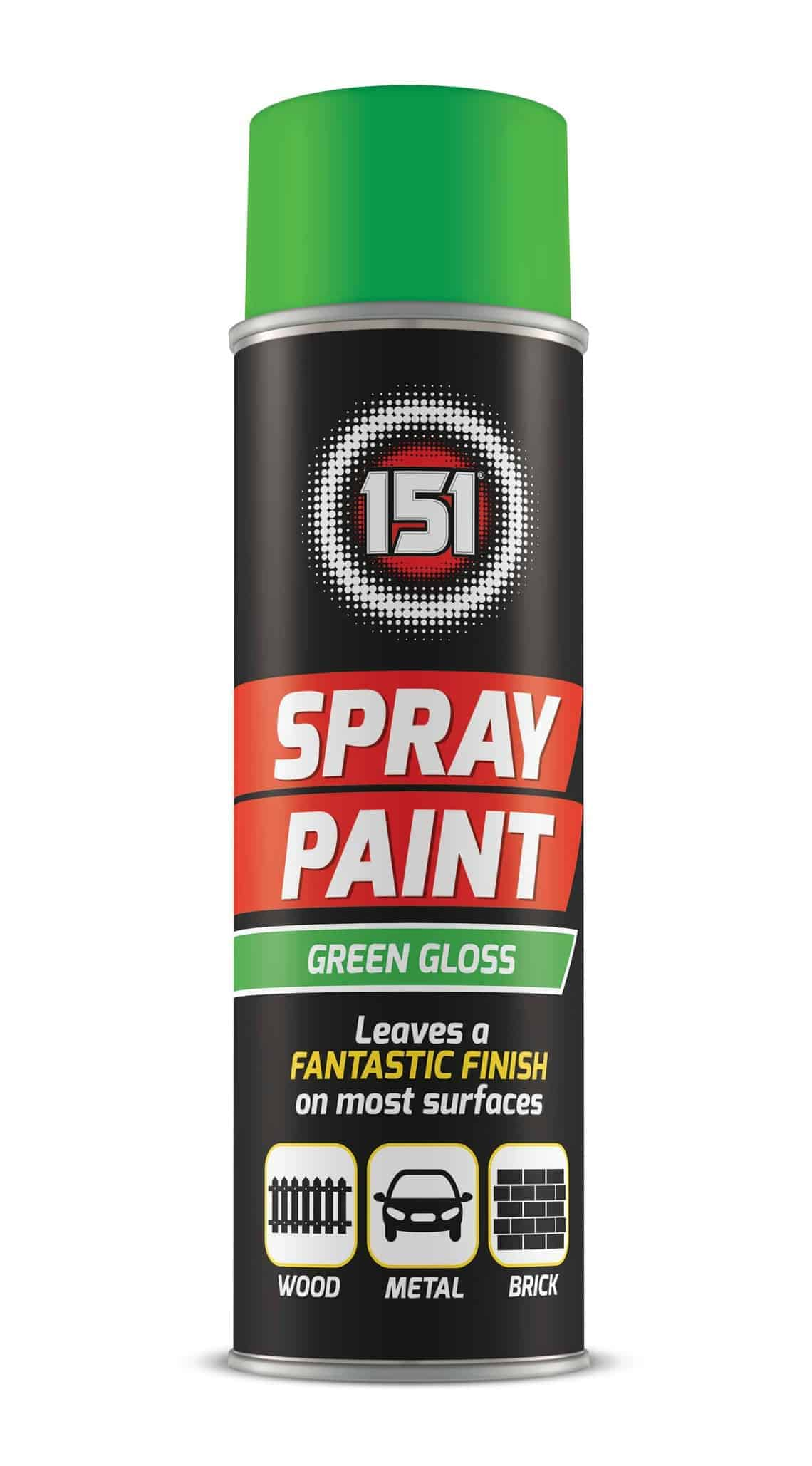 151 Products Spray Paint-Green-250Gm