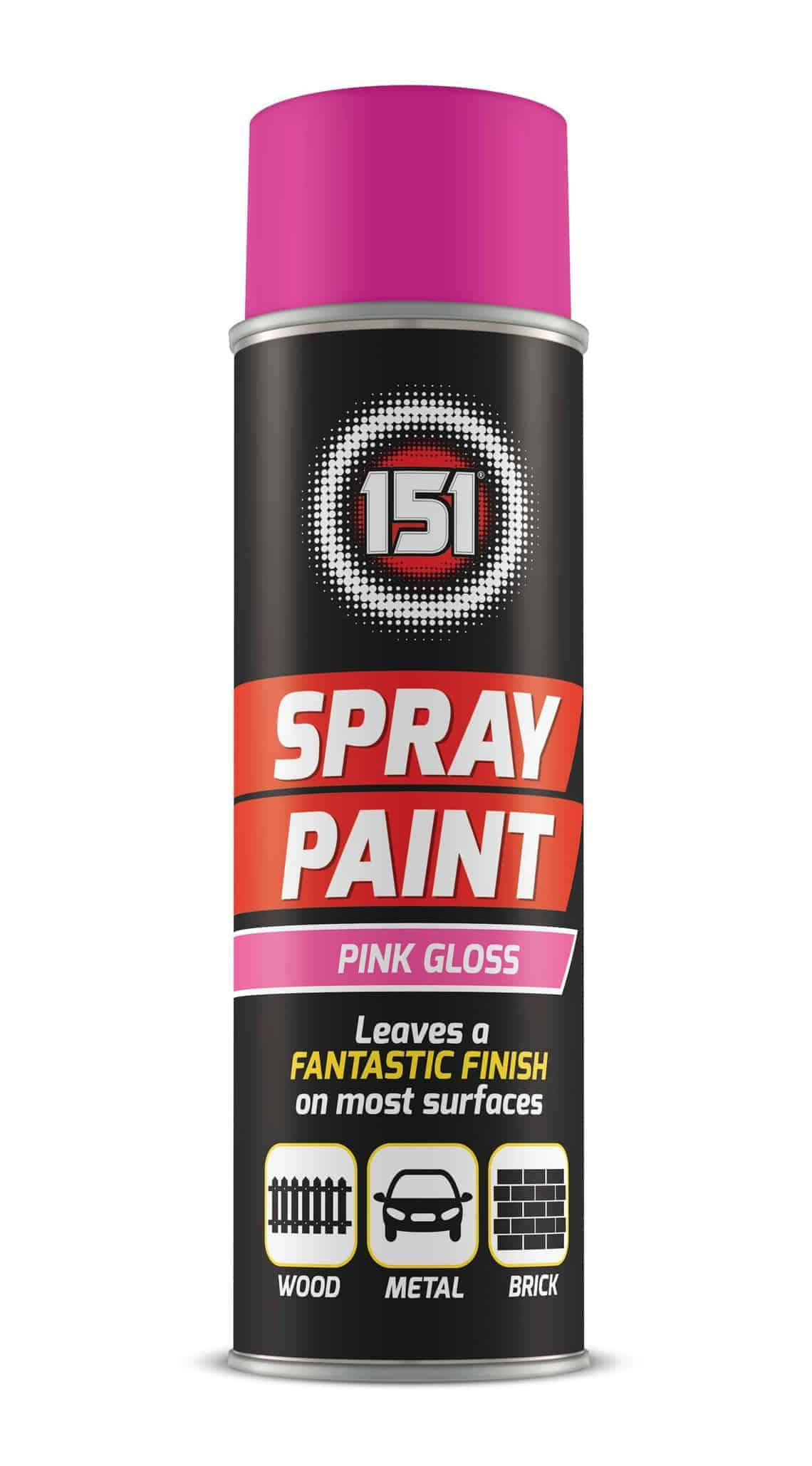 151 Products Pink Gloss Spray Paint