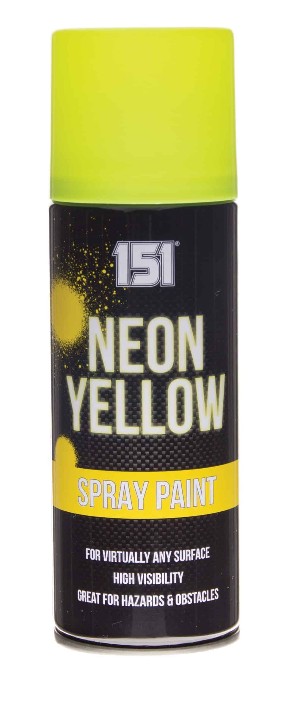 151 Products Neon Spray Paint-Yellow