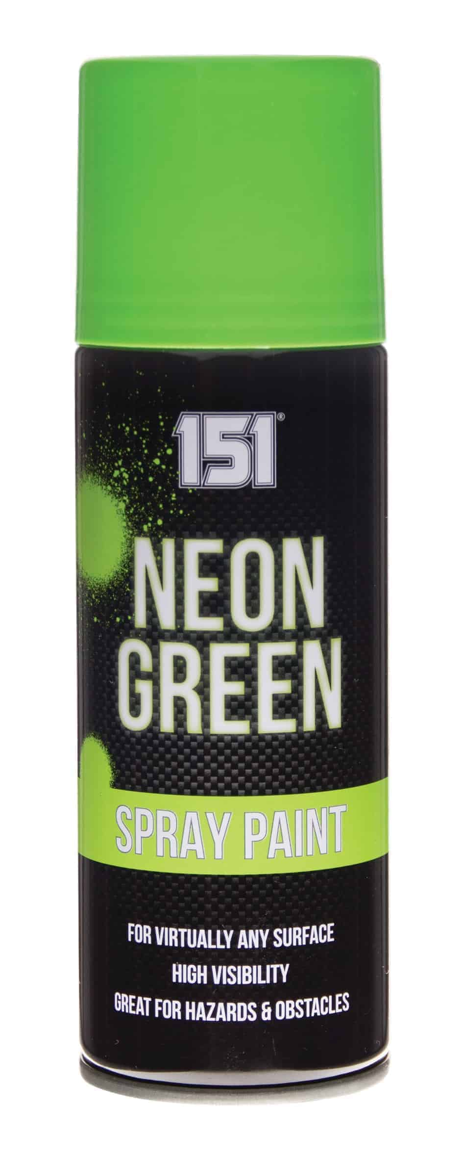 151 Products Neon Spray Paint-Green