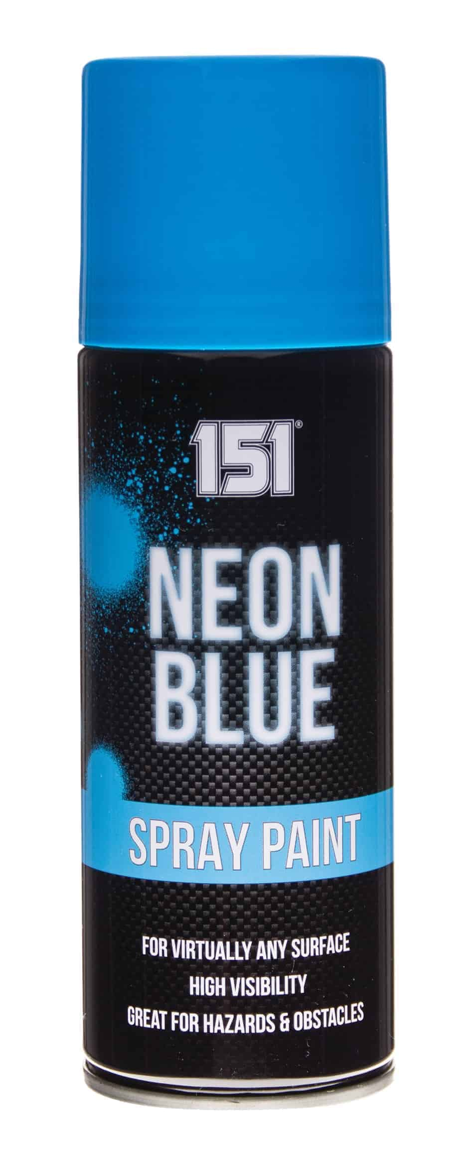 151 Products Neon Spray Paint-Blue