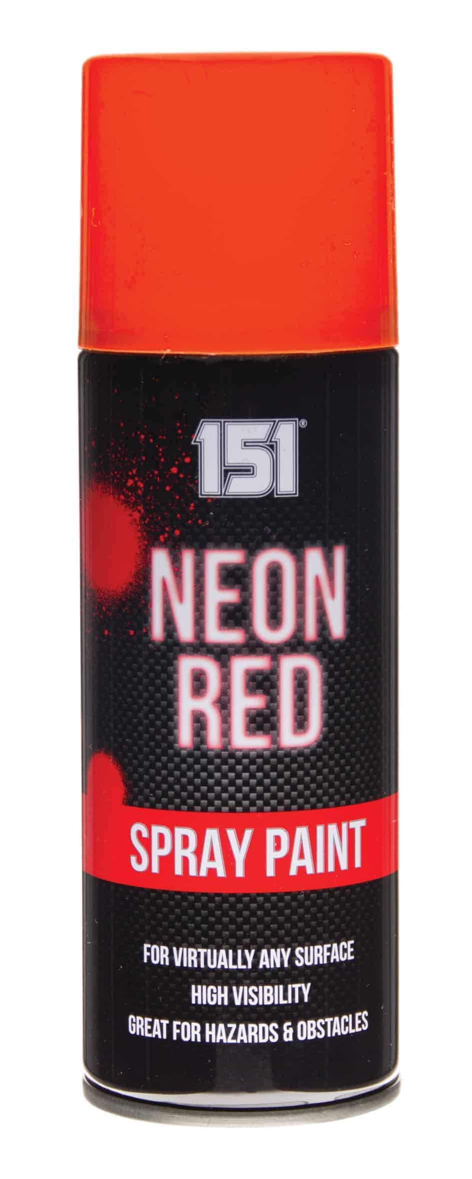 151 Products Neon Spray Paint-Red
