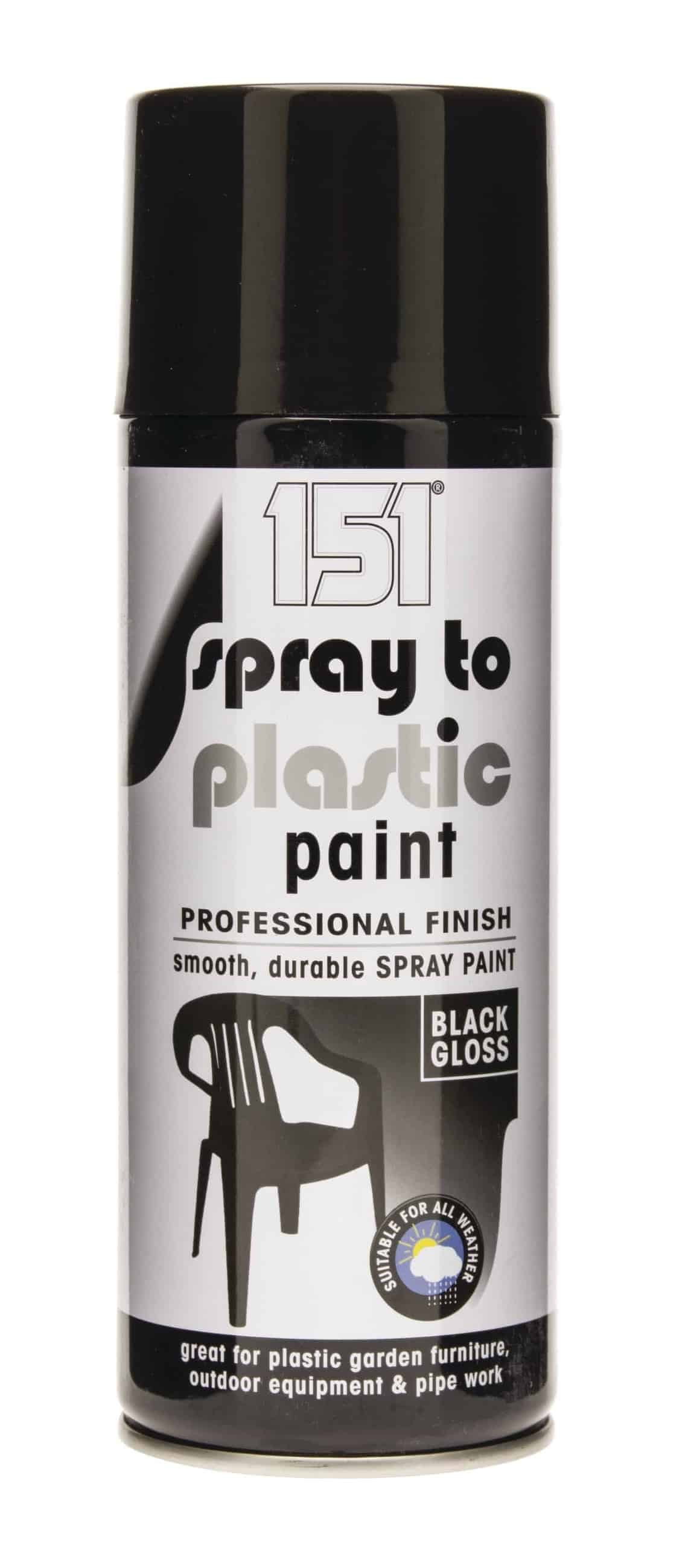 151 Products Spray To Plastic -Black Gloss 400Ml