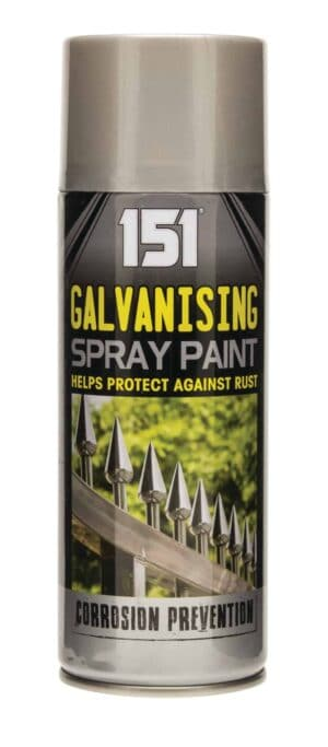 151 Products 400Ml Galvanised Effect Spray Paint