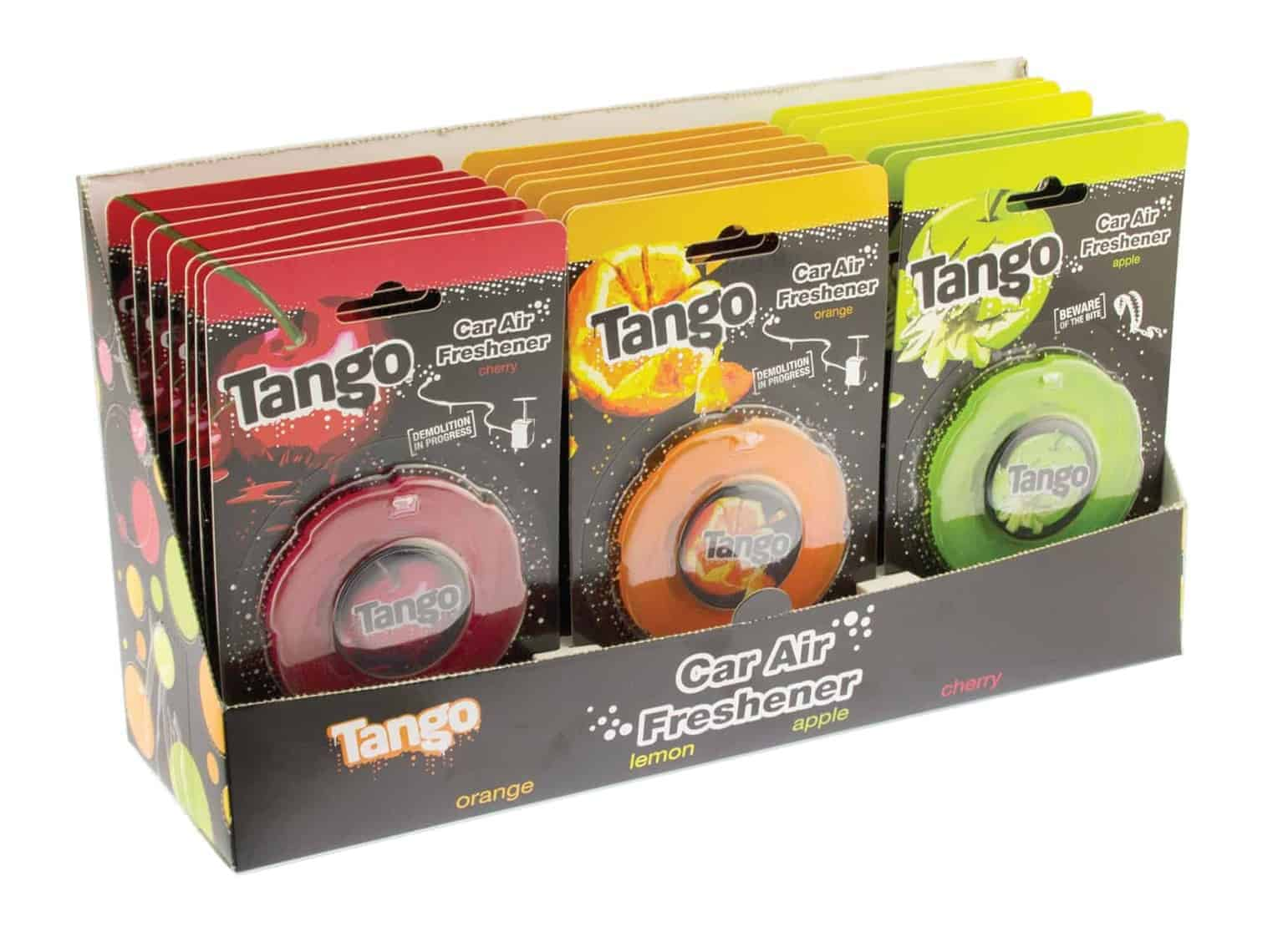 Assorted Tango Car Airfreshners