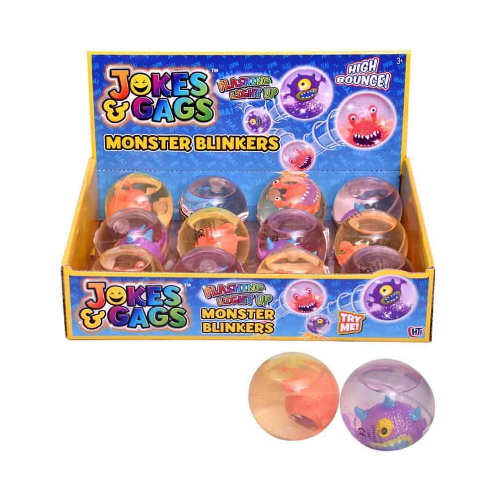 Lite Up Monster Blinker Ball