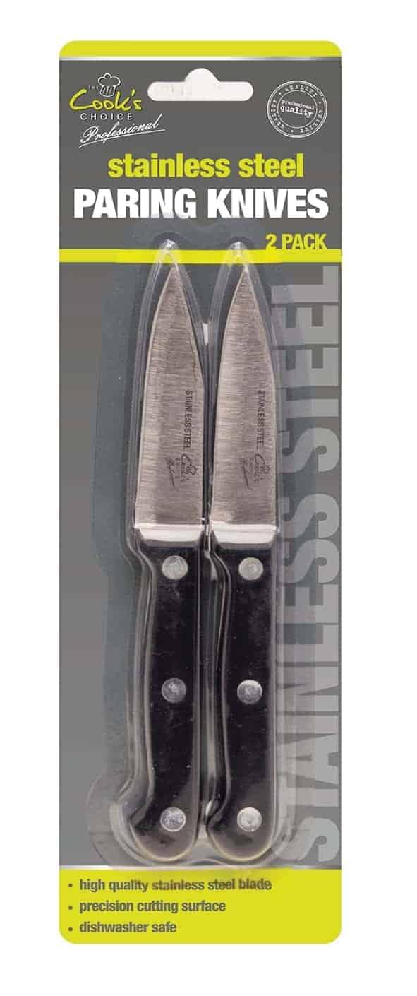 Cook's Choice Pairing Knife-2Pk