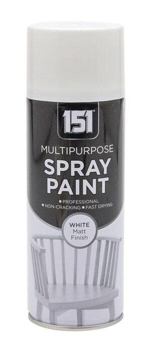 Spray Paint-400Ml-White Matt