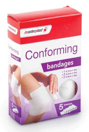Master Plast 5pk Conforming Bandages