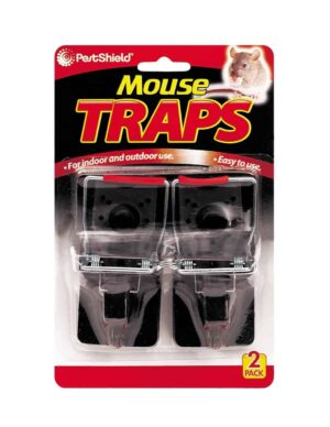 Pest Shield 2 Pack Mouse Traps